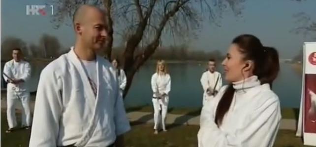 Dobro jutro Hrvatska: Aikido s Jaruna