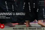 """Predavanje """"Japanski u aikidu"""" – 2. listopad u 20 sati u Kući Aikida"""