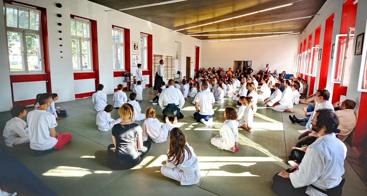 """2. susret """"Aikido za djecu Hrvatske"""" u Kući Aikida 17.10.2015."""