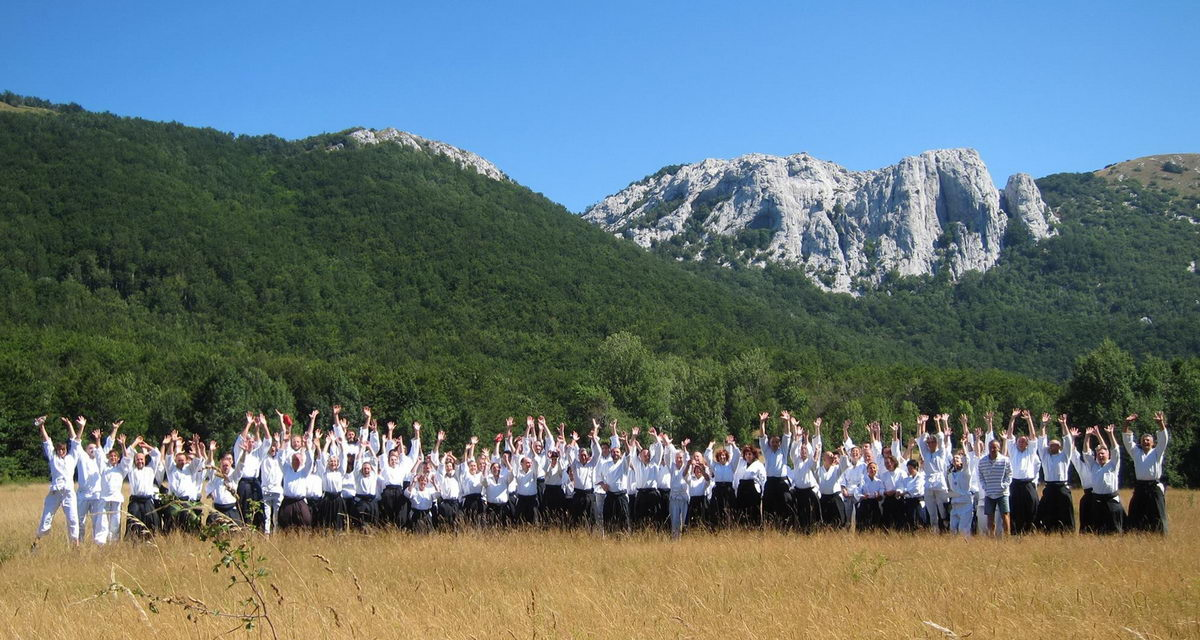 Velebit seminar with Doshu 29.7. - 3.8. 2016.