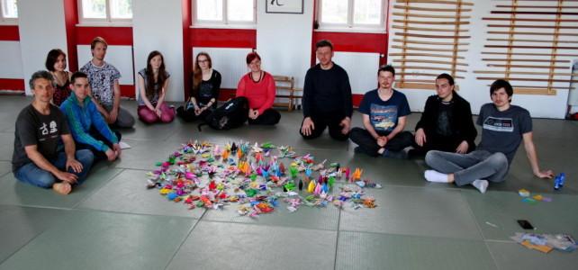 1000 ždralova za Nagasaki i Hiroshimu, 30. travnja
