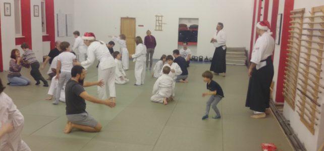 Sveti Nikola aikidom otjerao Krampusa sa dječjeg treninga