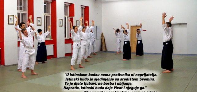 Upisi u početnu aikido grupu
